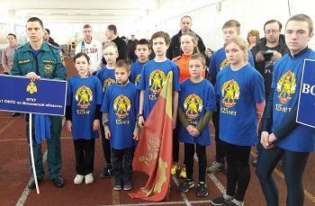 Первенство Московской области по пожарно-прикладному спорту среди юношей и девушек  - 2017