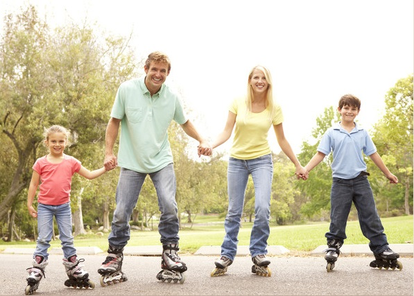 Семейные виды спорта. Что дают совместные занятия.
