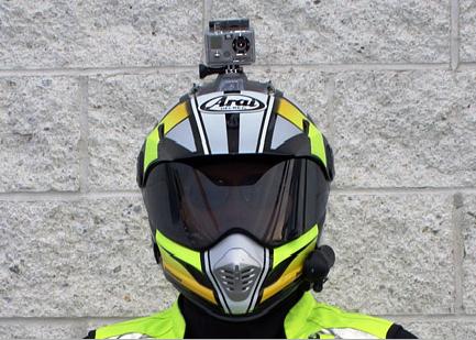 Камера на шлем