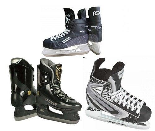Выбор хоккейных коньков