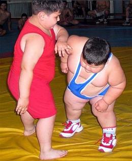 Спорт для полных детей