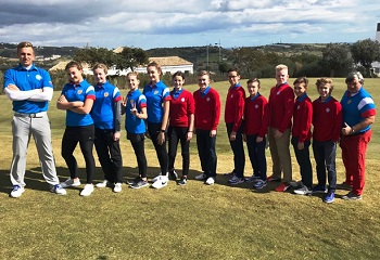 Первый в 2018 году тренировочный выезд Команды мечты по гольфу. Интервью с чемпионами