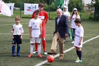 На детском футбольном турнире «Кубок добра» команды из России завоевали призовые места