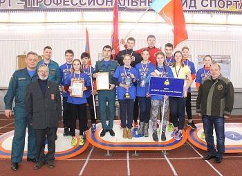 Зимнее Первенство Московской области 2018 года по пожарно-прикладному спорту среди юношей и девушек