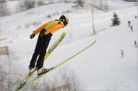 Лыжный спорт Описание история правила Прыжки на лыжах с трамплина